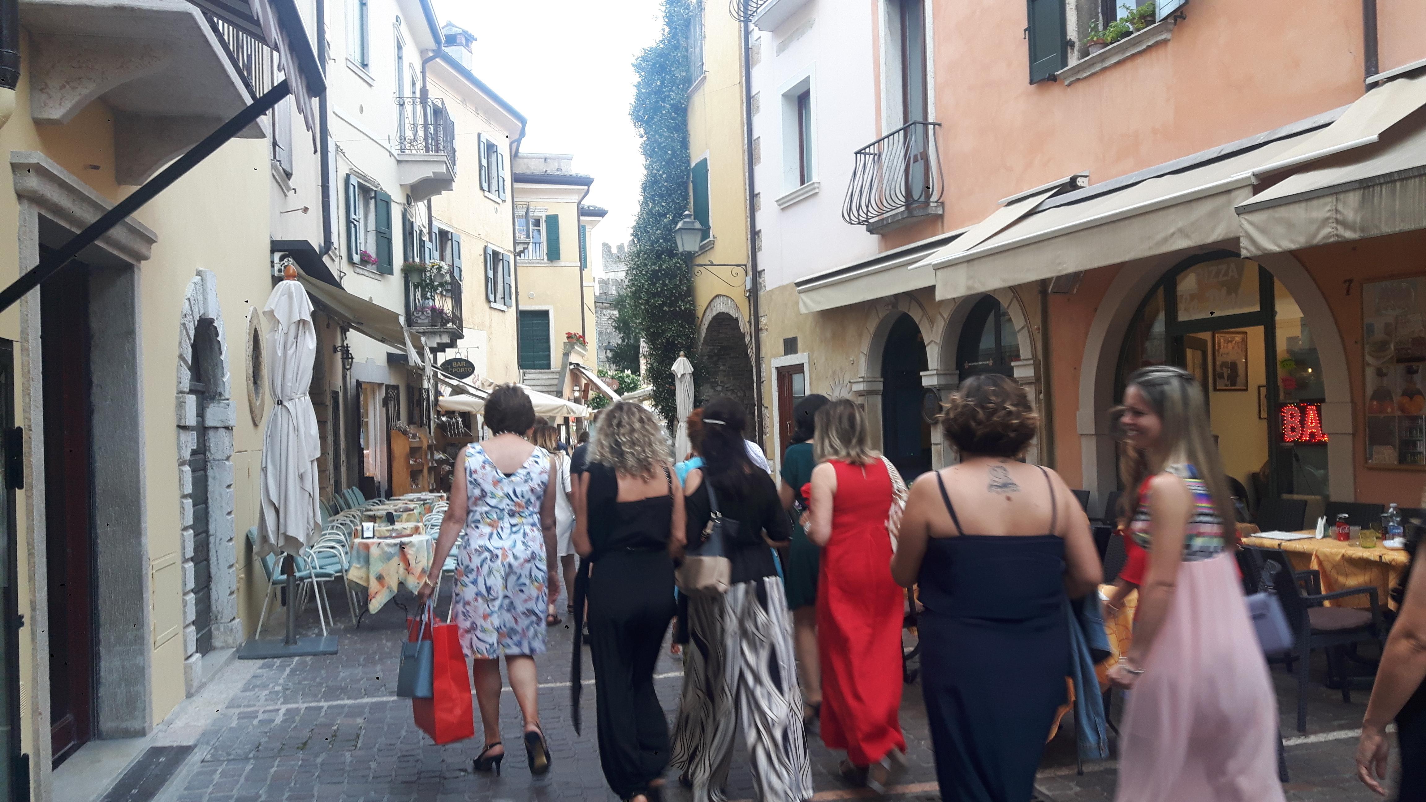 Stare miasto w Torri del Benaco