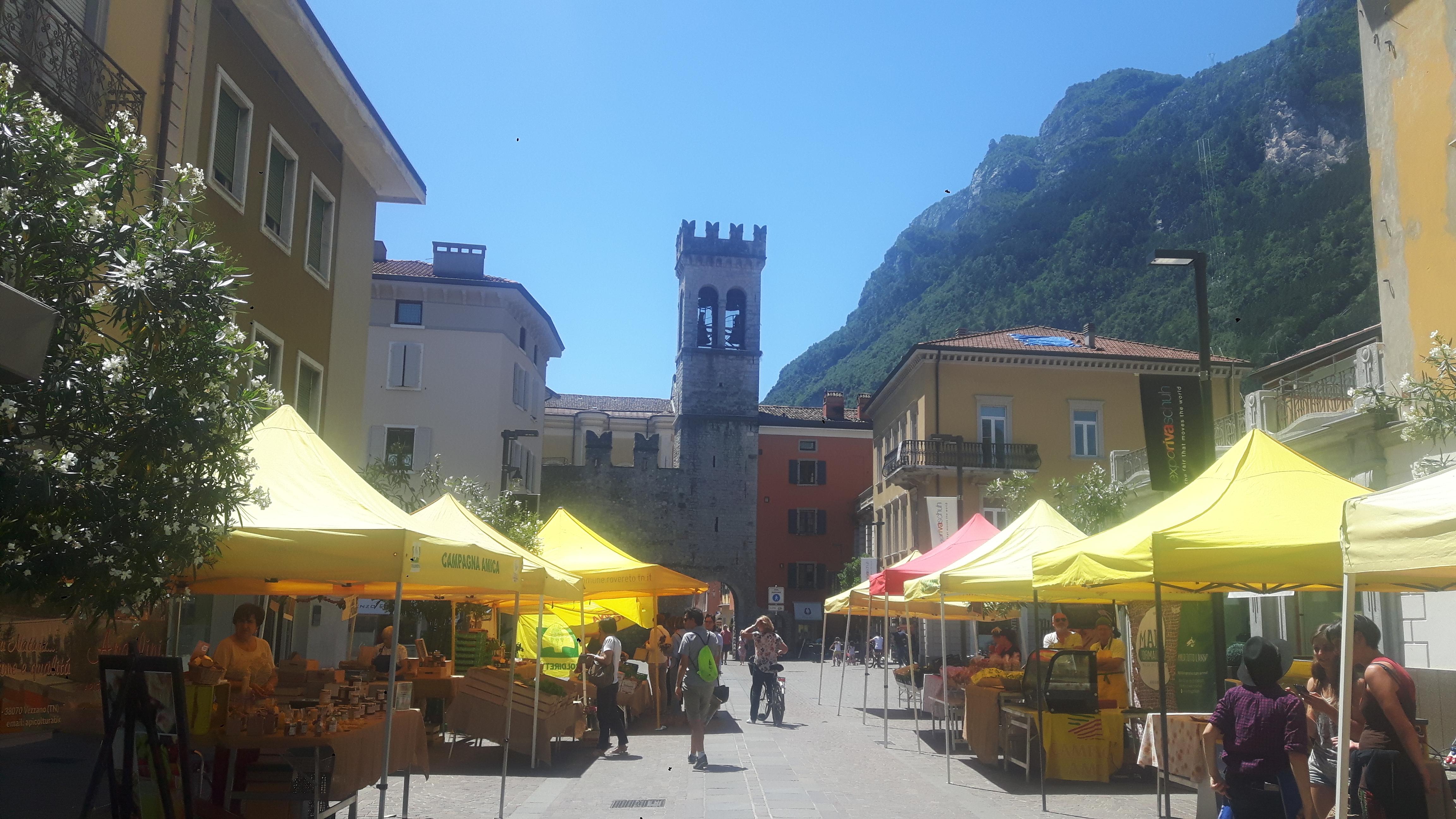 Torre Aponnale w Riva del Garda