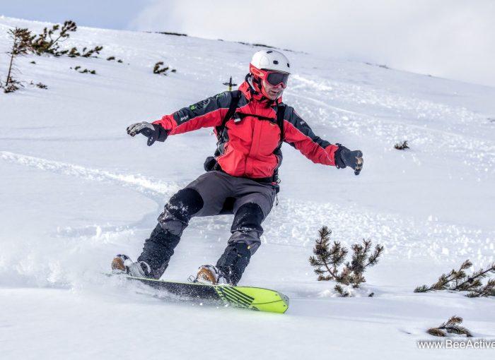 instruktor snowboardu Paweł Bugajski