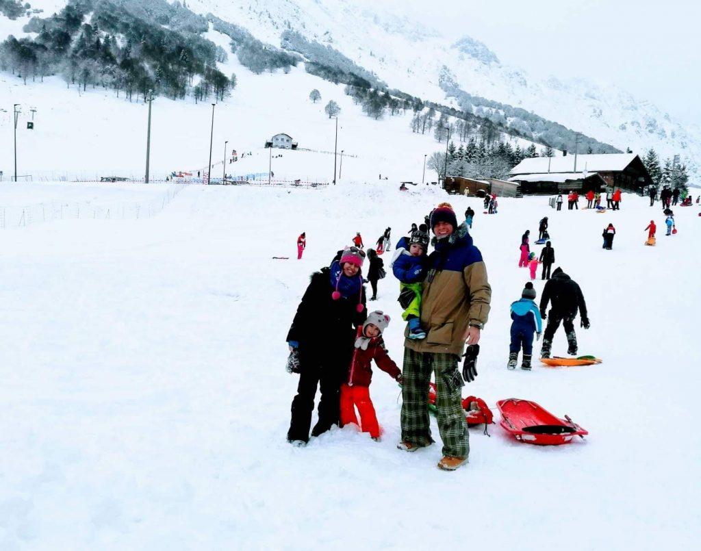 Jezioro Garda - Monte Baldo zimą