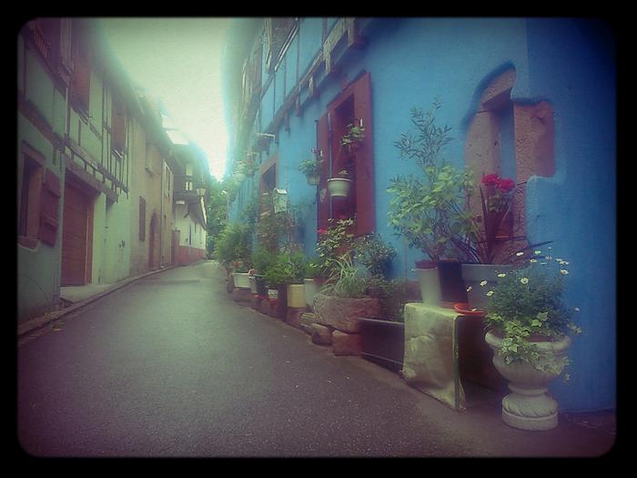 Uliczka w Ribeauville